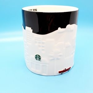 Starbuck's•Los Angeles•Collector Series*raised top